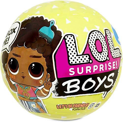 Boys LOL Surprise Serie 3, 7 Sorprese, Modello Casuale