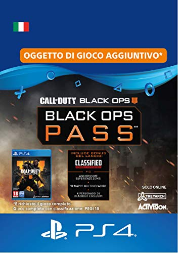 Call of Duty: Black Ops 4 - Black Ops Pass   Season Pass Edition   Codice download per PS4 - Account italiano