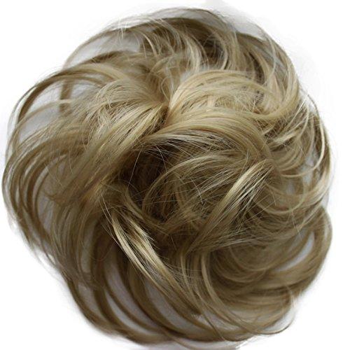PRETTYSHOP Haarteil Haargummi Hochsteckfrisuren unordentlicher Dutt  25 G29B