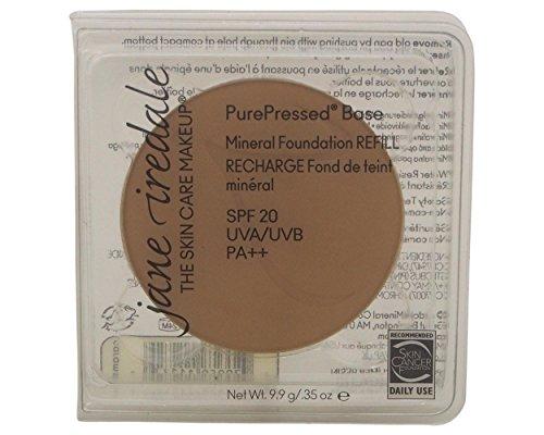 jane iredale Pressed Powder Gesichtspuder Refill ,LSF20 Caramel , 1er Pack (1 x 9.9 g)