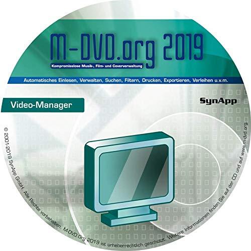 M-DVD.Org 2019 - Video-Manager - Film- & Cover-Verwaltung (DVD, Blu-ray, AVI, DivX, uvm.)