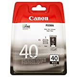 Canon PG-40 - Cartucho de Tinta para impresoras (Negro, Estándar, 16 ml)