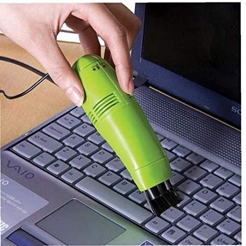 Zonfer 1pc Pulitore della Tastiera Mini Computer Portatile USB Desktop Spazzola di Pulizia Notebook Pc Accessori per Computer