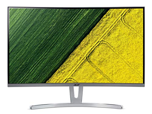 "Acer ED273 - Monitor curvo de 27"" FullHD (panel VA, FreeSync, tiempo de respuesta 4ms, ZeroFrame, HDMI, DVI)"