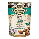 Carnilove Crunchy Snack Carp & Thyme, Premios para Perro, 200G - 200 gr