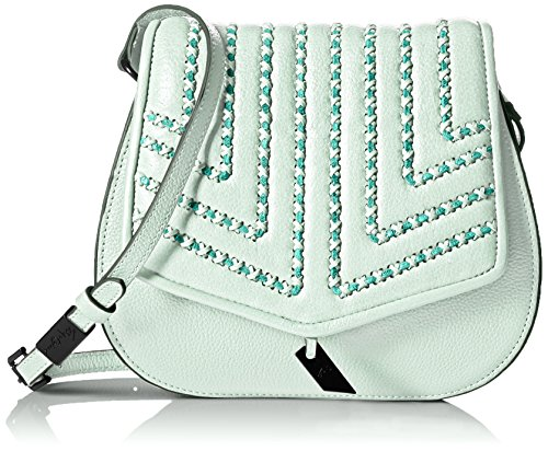 Foley + Corinna Zoe Saddle Crossbody, Caribbean Blue