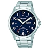 PULSAR- QUARTZ GENTS STAINLESS STEEL BRACELET WATCJ