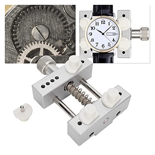 XIAOFANG Herramienta de apertura de la caja de la caja de reloj ajustable Eliminar Reloj Atrás Estuche para el ahorro de mano de obra para el reloj de la herramienta de reparación de relojes de abrela