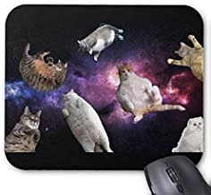Gaming mouse pad Cats In Space Mouse Pad
