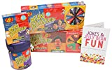 Jelly Belly Bean Boozled 4 Pc Practical Joke Kids Gift Set - Includes FIERY FIVE BeanBoozled and Free Mini Joke Brochure!