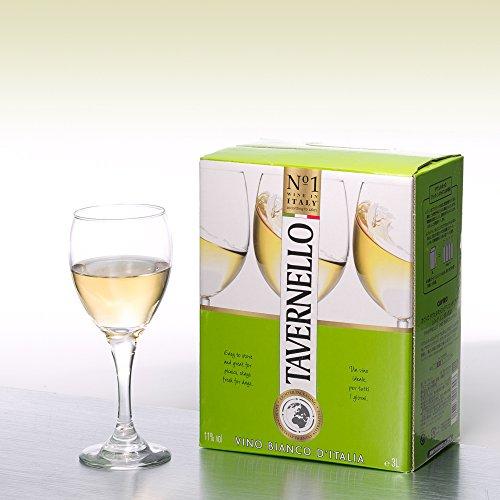 【世界NO.1イタリアテーブルワイン】タヴェルネッロビアンコ(バッグインボックス)[白ワイン辛口イタリア3L]