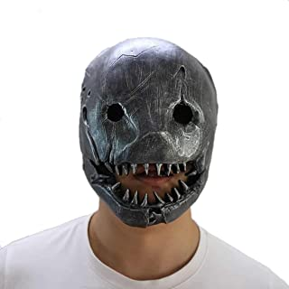 Hotcoser Dead Daylight Trapper Mask Terrible Resin Halloween Party Cosplay Props for Adult