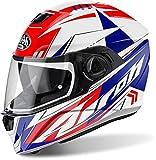 Airoh - casco moto airoh storm battle red gloss stbt55 - cast13f - xxl