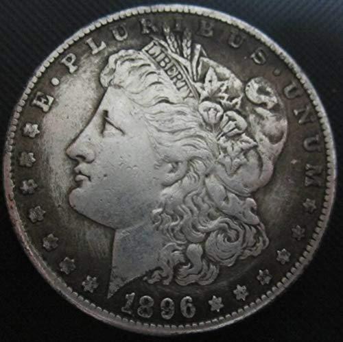 YWJHY Kupferkern 1896 Amerikanische Silbermünze aus Silber,Silber,Einheitsgröße