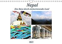 Nepal Eine Reise durch ein faszinierendes Land (Wandkalender 2022 DIN A4 quer): Eine Reise durch ein Land mit vielen Gegensaetzen. (Monatskalender, 14 Seiten )