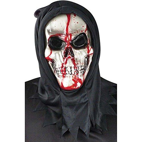 Chaks FW93294, Masque TETE DE MORT avec pompe à sang