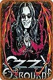 Ozzy Osbourne Tin/Metal Style Street Poster Sign Garage
