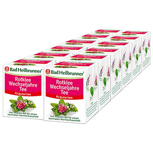 Bad Heilbrunner® Rotklee Wechseljahre Tee, 12er Pack