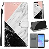 WGR Huawei Y6 2018 Case, Honor 7A / 7A PRO Leather Case,