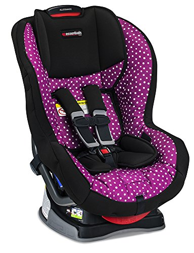 Britax Allegiance Convertible Car Seat - 5 to 65 Pounds - Rear & Forward Facing - 1 Layer Impact Protection, Confetti