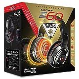 Turtle Beach Ear Force Z60 Auricular con micrófono Binaural Diadema Negro, Rojo - Auriculares con micrófono (PC/Juegos, Binaural, Diadema, Negro, Rojo, Alámbrico, Circumaural)
