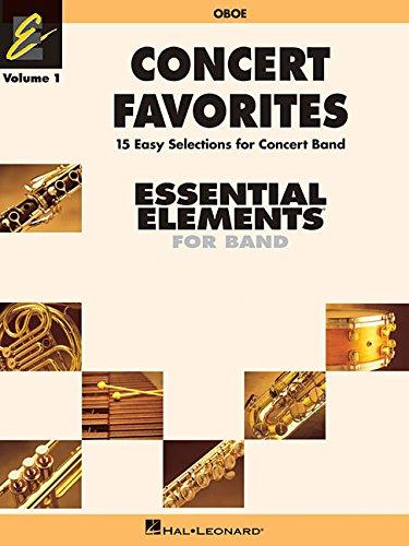 Concert Favorites: Oboe: Essential Elements Band Series (Essential Elements 2000 Band)