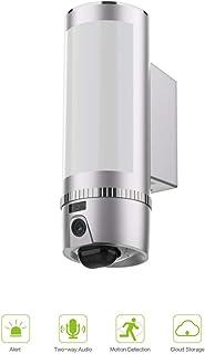 Freecam Cámara de Vigilancia WiFi ExteriorDetección de Movimientos1080P IP65 Impermeable Cámara SeguridadCámara IP Wi-Fi Exterior con Luces y Sonidos de AlarmaPIR Sensor Audio bidirecciona