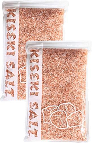 ヒマラヤ岩塩ロックソルト ピンク ミル用 粗粒 2-3mm 食用 1kg×2袋(2kg)