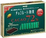 明治 チョコレート効果カカオ72% 26枚入り×6個 ×2セット