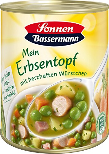 Sonnen Bassermann Erbsen-Suppentopf , 3er Pack (3 x 800 g Dose)