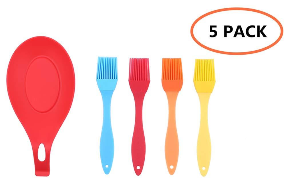 Pack Silicone Basting Brush Marinating