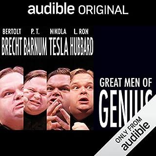 Great Men of Genius Series audiobook cover art
