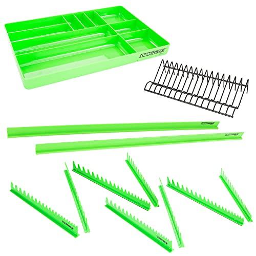 OEMTOOLS 22189 12 Piece Tool Organizer Set | Professional Mechanic Tool Chest Organizer | Drawer...