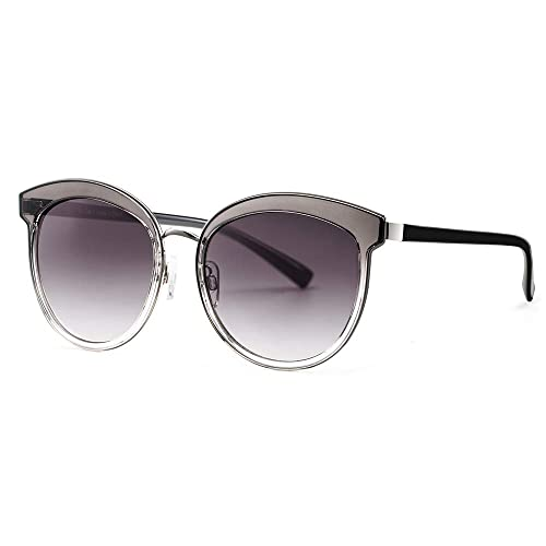 c97a822295b Avoalre Sunglasses for Womens UV 400 Protection 100% Oversized Eyewear  Round Cat Women Shades Mirrored