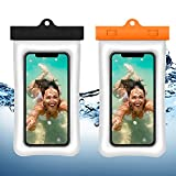 J TOHLO Floating Waterproof Phone Pouch, Schwimmbare