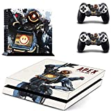Playstation 4 Skin Set - Apex Legend HD Printing Vinyl Skin Cover Protective for PS4 Console and 2 PS4 Controller by Mr Wonderful Skin