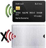 Waizmann.IDeaS® 5x RFID NFC Blocker Schutzhülle KREDITKARTE Hülle Abschirmung Schutz
