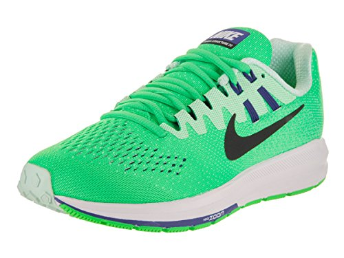 Nike Women's Air Zoom Structure 20 Electro Green/Black Running Shoe 6 Women US