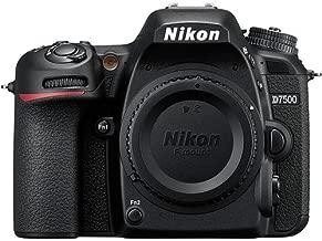 Nikon D7500 DSLR Camera Body + Nikon Bag + 64GB Memory Card + Flash + Battery and Charger + Software Suite + Kit