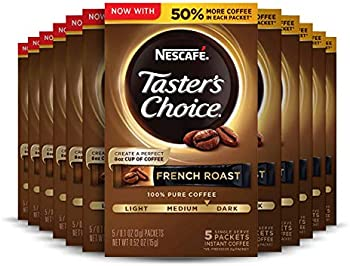 12-Pack Nescafe Taster's Choice Instant Coffee