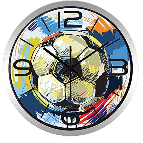 rrff Relojes De Pared Reloj De Pared De Pintura Colorida De
