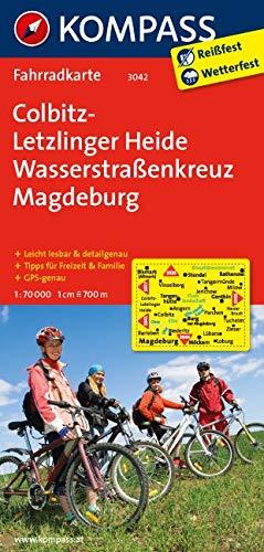 KOMPASS Fahrradkarte Colbitz-Letzlinger Heide - Wasserstraßenkreuz Magdeburg: Fahrradkarte. GPS-genau. 1:70000 (KOMPASS-Fahrradkarten Deutschland, Band 3042)