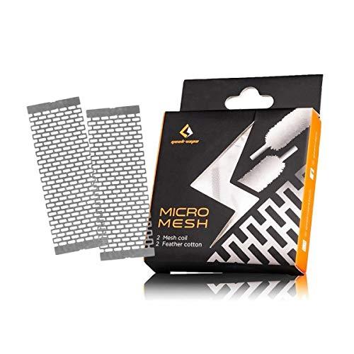 Set bobina in cotone e rete GeekVape Zeus X Mesh RTA Ni80 0.17ohm, non include nicotina, tabacco, E-Liquid