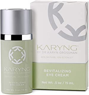 KARYNG Revitalizing Peptide Eye Cream – Helps Reduces Fine Lines, Wrinkles, Puffiness, and Dark Circles - Anti-Aging - Restores Damaged Skin & Boosts Collagen - Paraben Free - 5oz/15ml