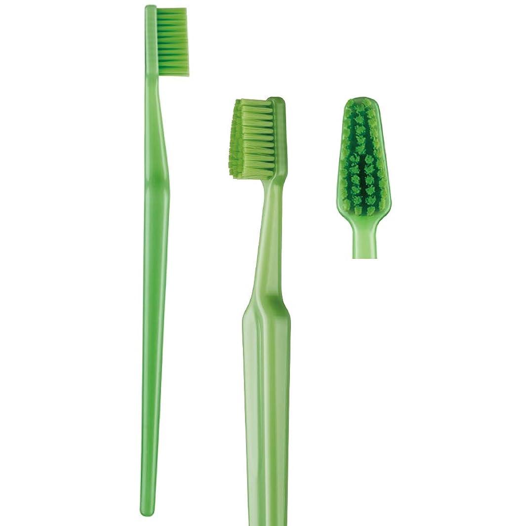 芽バリケードブラウン歯科専売品 大人用歯ブラシ TePe GOOD (グッド) レギュラー ソフト(やわらかめ) ヘッド大 1本
