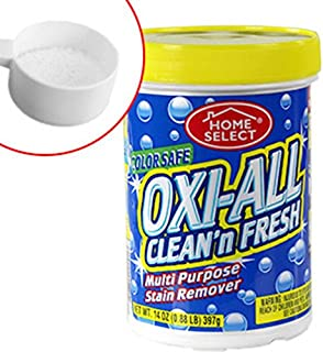 Oxi-All Multi-Purpose Stain Remover Clean And Fresh - Great For Laundry, Carpets, Kitchen And Bathrooms Fabric Furniture And Much More, Stains come out almost like magic! - Chlorine Free - Color Safe