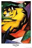 1art1 Franz Marc - Tiger, 1912 Poster 91 x 61 cm