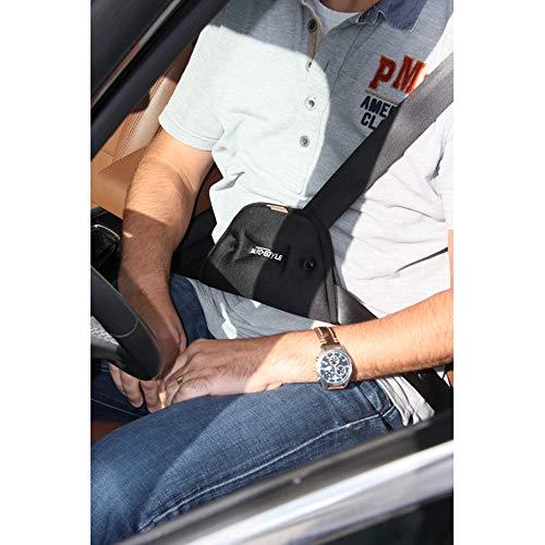 AutoStyle Comfortline Guide Ceinture Confort - Noir - 25,5x14x3cm.