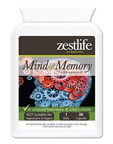 Vitaminas para estudiar Zestlife