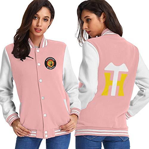 阪神タイガース 野球ジャケット メンズ レディース兼用 野球コート グラウンドコート 野球服 フリースジャケット 裹毛 ブラック/グレー/ピンク